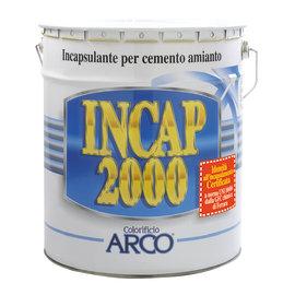 Impermeabilizzante cemento amianto liquido Incap 2000 verde 14 L