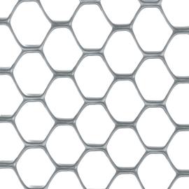 Rete Exagon H 1,5 x L 5 m argento
