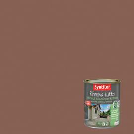 Vernice per esterno ad acqua Syntilor Rinnova Tutto marrone terracotta 2,5 L