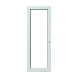 Portafinestra PVC bianco L 80 x H 220 cm sx