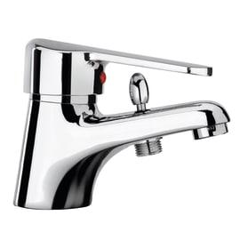 Miscelatore lavabo con deviatore Cusio cromato