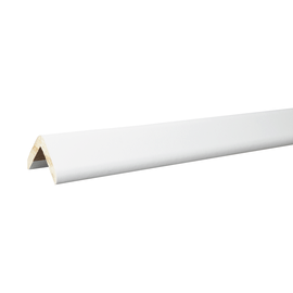 Paraspigolo mdf rivestito bianco 28 x 28 x 3000 mm