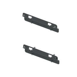 Kit fissaggio e regolazione anta per estraibile 2 ripiani da 30 cm