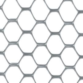Rete Exagon H 1 x L 3 m argento