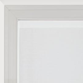 Tendina a vetro per finestra Penelope bianco 90 x 150 cm