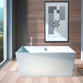 Vasca centro stanza Carmel 159 x 65 cm