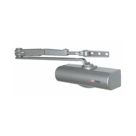 Chiudiporta multiforza idraulico argento