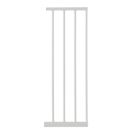 Estensione cancelletto acciaio bianco L 28 cm