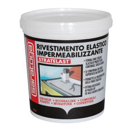 Impermeabilizzante Stratelast rosso 0.75 L