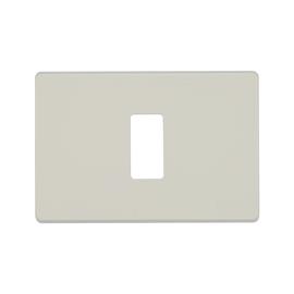 Placca 1 modulo BTicino Magic avorio