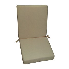 Cuscino schienale basso tortora 89 x 40 cm