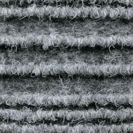 Passatoia al taglio Eco-stripe grigio 65 cm