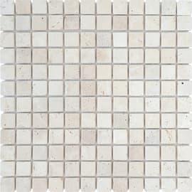 Mosaico Traverino Ivory 30,5 x 30,5 cm avorio
