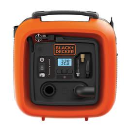 Minicompressore senza serbatoio Black & Decker Con funzione di sgonfiaggio, pressione massima 10 bar