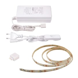 Kit striscia LED estensibile Inspire luce calda m1,5