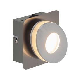 Faretto singolo Crossing cromo LED integrato