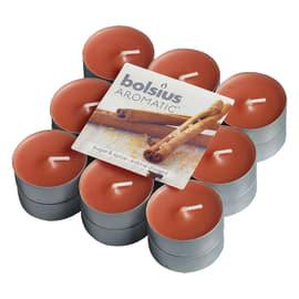 Tealight confezione 18 pezzi essenza cannella