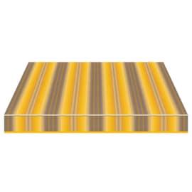 Tenda da sole a bracci Tempotest Parà 240 x 210 cm giallo/grigio/beige Cod. 944/926
