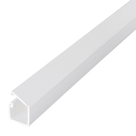 Minicanale per cablaggio adesivo 13 x 7 mm x L 2 m