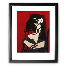 Stampa incorniciata Jacqueline 45 x 55 cm