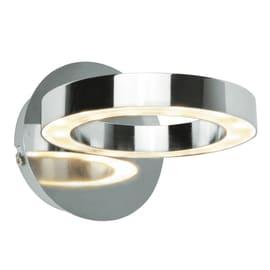 Faretto singolo Inspire Circey cromo LED integrato