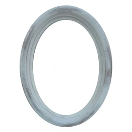 Cornice Oval bianco 13 x 18 cm