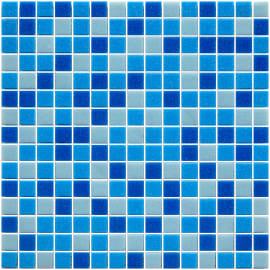Mosaico Pool 32,7 x 32,7 cm azzurro