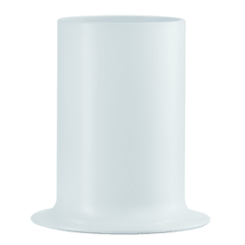Porta posate e mestoli Porta utensili da cucina Taula - bianco bianco L 13,5 x P 13,5 x H 14,9 cm