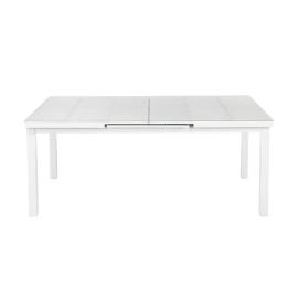 Tavolo allungabile Lamas, 180 x 100 cm grigio chiaro