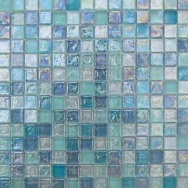 Mosaico Mix 30,4 x 30,4 cm blu