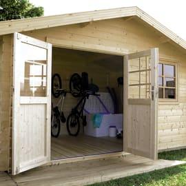 Casette da giardino prezzi e offerte online leroy merlin 2 for Sfere legno leroy merlin
