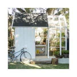 casetta in legno grezzo Serra Vertigo 5,6 m², spessore 28 mm