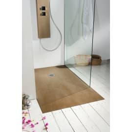 Piatto doccia resina Forest 100 x 70 cm cedro