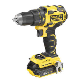 Trapano avvitatore con percussione Stanley FatMax brushless FMC627D2-QW, 18 V 2 Ah, 2 batterie