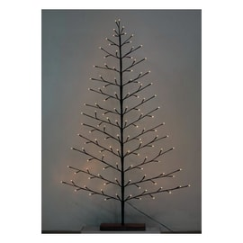 Albero di Natale artificiale LED H 150 cm