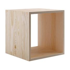 Struttura a cubi Dinamic naturale L 36,2 x P 33 x H 36,2 cm