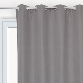 Tenda oscurante termica antirumore grigio 135 x 280 cm