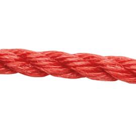 Corda in polipropilene Ø 8 mm x 15 m Rosso