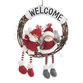 Fuoriporta welcome con bambini, ø 40 cm