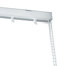BINARIO LAMELLE singolo bianco 320 cm