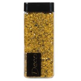 Sassi vetro decorativi giallo 0,8 g