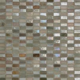 Mosaico Sucre glass 30 x 30 cm bianco, azzurro, grigio