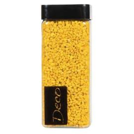 Sassi e graniglia decorativa giallo 0,8 g