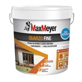 Pittura al quarzo per esterno Max Meyer bianco 14 L