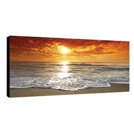 quadro su tela Glitter Wow Sunset 145x75