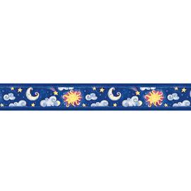 Bordo Cielo e luna multicolor 5 m