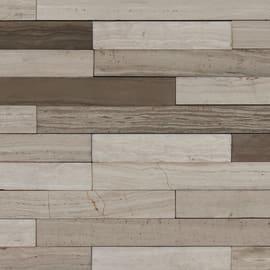 Mosaico Robistone 3d mix 24 x 30 cm grigio, beige
