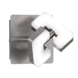 Faretto singolo Zara nickel LED integrato