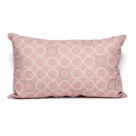 Cuscino Circles rosa 30 x 50 cm