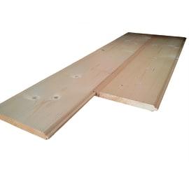 Listone sottotetto abete grezzo naturale 20 x 180 x 2000 mm